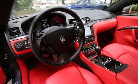 maserati sports car interior maserati granturismo sport interior