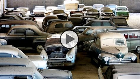 Portugal Car Barn Find by Barn Find With Classic Cars In