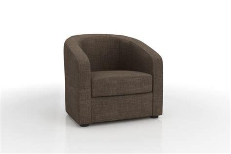 canapé convertible largeur 140 fauteuil cabriolet ponza en tissu