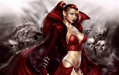 Dark Woman Fantasy Wallpoper Female