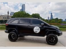 Toyota's Ultimate Utility Vehicle is a minivan fit for the