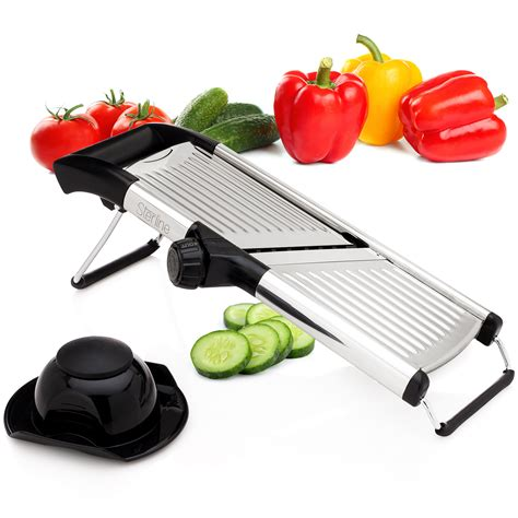 cuisine mandoline sterline adjustable mandoline vegetable potato food slicer