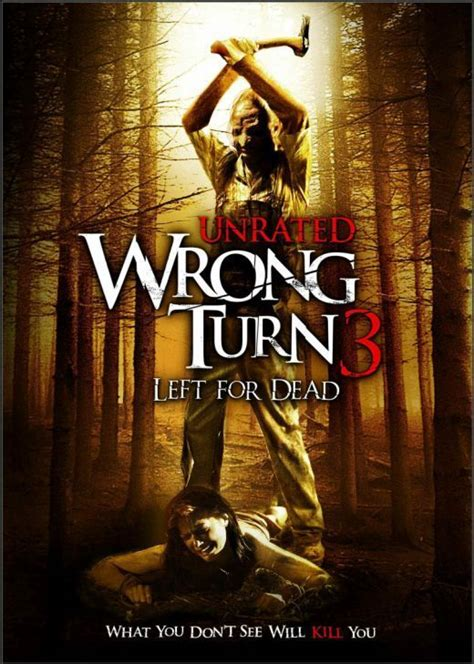 horror movies images wrong turn  left  dead hd