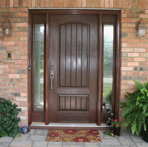 Fiberglass Exterior Door Finest Fiberglass Doors With