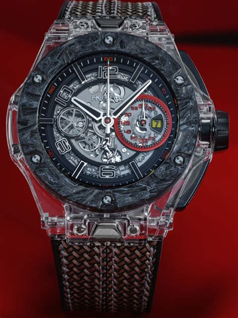 Subsequent variations in titanium and yellow gold limited to 50 and 20. Hublot Big Bang Scuderia Ferrari 90th Anniversary: Malaysia Price And Review | Crown Watch Blog ...