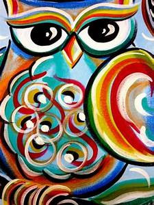 83 best Owl canvas ideas images on Pinterest   Canvases ...