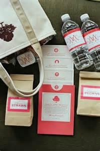 wedding hotel bags wedding wednesday welcome bag ideas