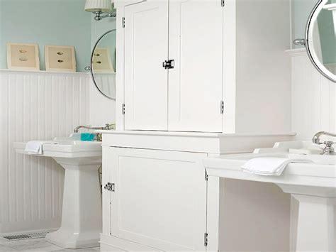 White Beadboard Bathroom : Bathrooms With Beadboard, White Beadboard Bathroom Wall
