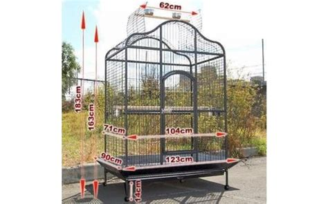 Gabbie Grandi Per Uccelli by Voliera Gabbia Recinto Parrot Cage Pappagalli Uccelli H