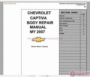 Captiva Body Repair Manual