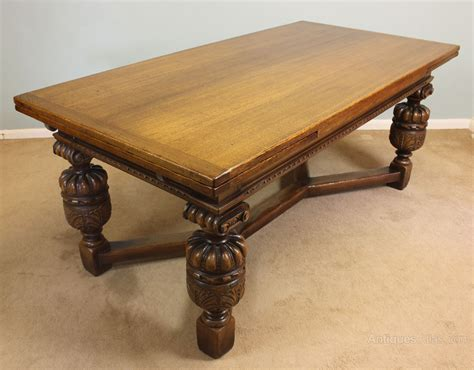 antique dining table antiques atlas antique oak refectory draw leaf dining table 4882