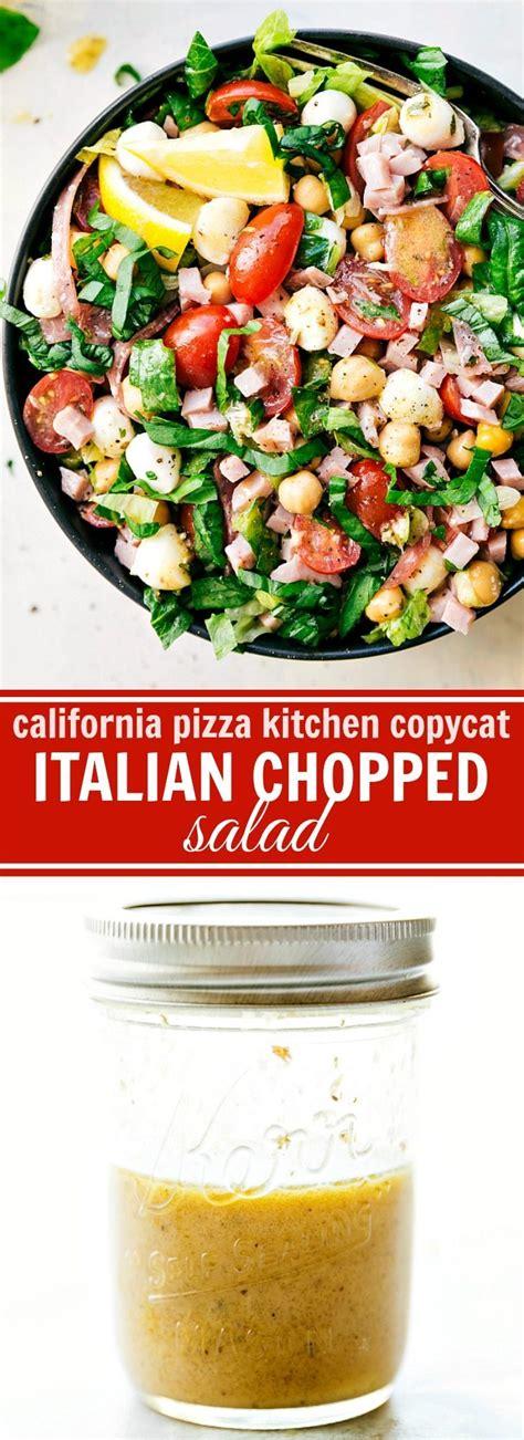italian chopped salad california pizza kitchen copycat