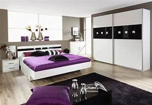 Tonio schlafzimmer ii weiss schwarz for Schlafzimmer schwarz weiß