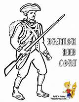 Coloring Soldier War Army Pages British American Revolution Revolutionary Civil Soldiers Easy Drawing Ww1 Clipart Templates America Military Yescoloring Hessian sketch template