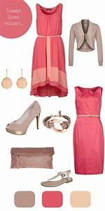 Kleid Koralle Hochzeit : die besten 25 kleid hochzeitsgast sommer ideen auf pinterest hochzeitsgast kleidung ~ Orissabook.com Haus und Dekorationen