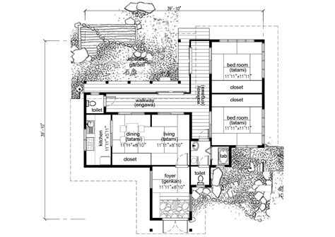 traditional house floor plans sda architect category japanese house plans