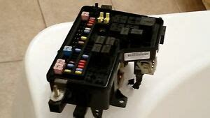 dodge ram   hood fuse box relay panel
