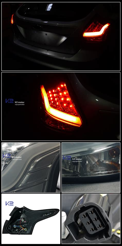2012 2014 ford focus 5dr led lights smoke