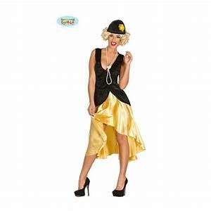 Déguisement Années Folles : d guisement femme annees 20 noir et dore ~ Farleysfitness.com Idées de Décoration