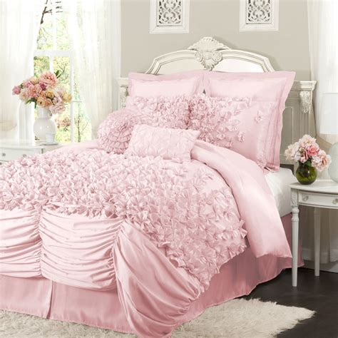 pink bedding pale pink comforter bedding sets a soft place to fall Light