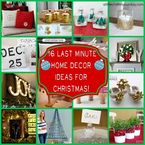 last minute decorations 16 last minute christmas decor ideas a little craft in