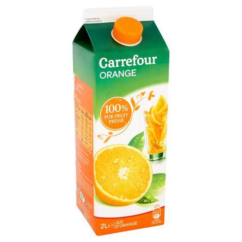 jus de fruits carrefour comparez vos jus softs au meilleur prix chez shoptimise