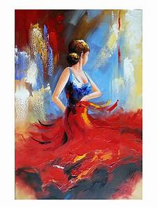 Dancing Girl Abstract Painting | www.pixshark.com - Images ...