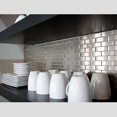 Metal Tile Backsplashes Pictures, Ideas & Tips From Hgtv