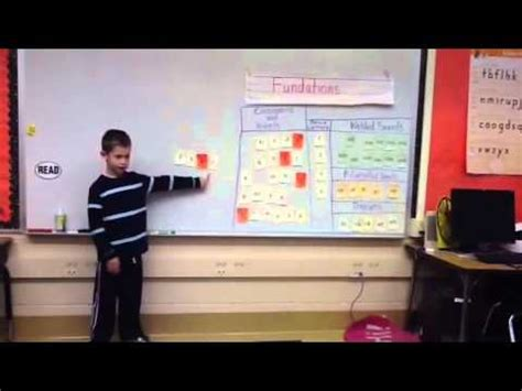 grade fundations lesson youtube