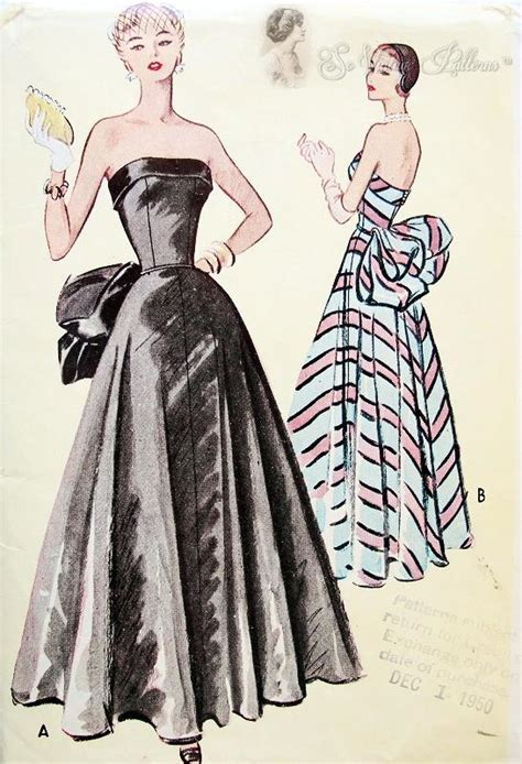 formal evening ball gown pattern mccall