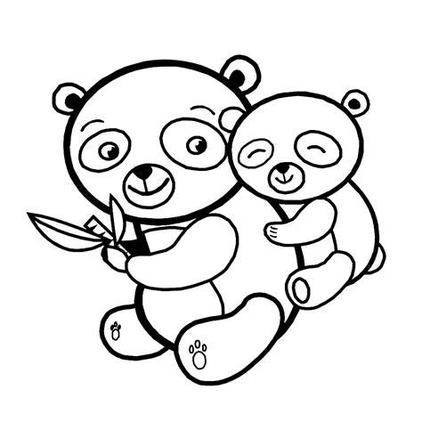 Dierenmasker Kleurplaat Panda by Pandaberen Kleurplaten Kleurplatenpagina Nl Boordevol