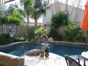 Small Tropical Backyard Pool Designs