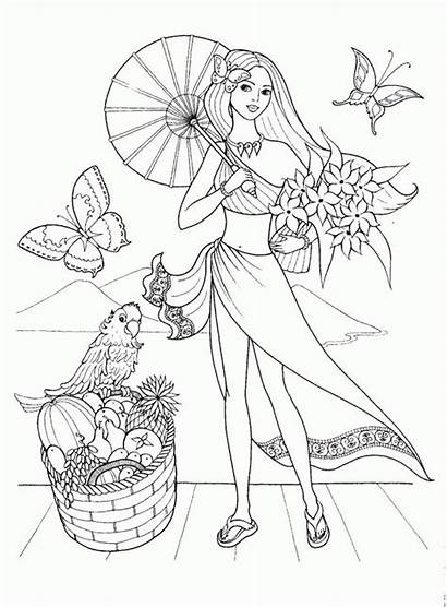 Coloring Pages Summertime 1950s Printable Template Getcolorings