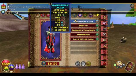 wizard101 gear balance lvl