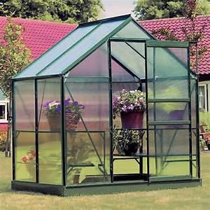 Serre En Polycarbonate Ou En Verre : la serre de jardin en polycarbonate ~ Premium-room.com Idées de Décoration