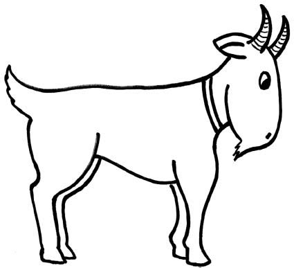 goat clipart black and white goat clip black and white image clipart panda free