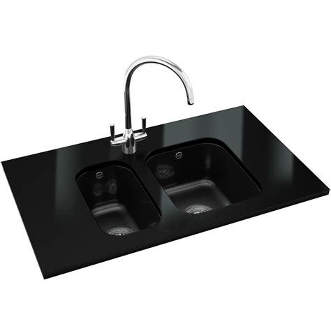 black ceramic undermount kitchen sinks franke v and b vbk 110 33 ceramic black 1 0 bowl 7867