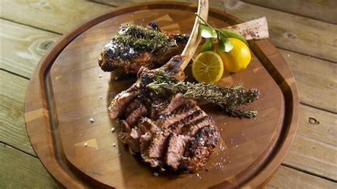 grilled veal chops  smoking rosemary barbecuebiblecom