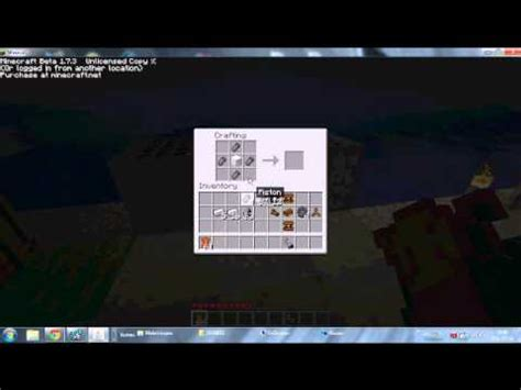 comment faire un avion dans minecraft