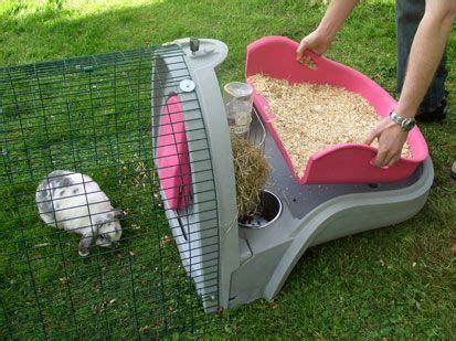 omlet rabbit hutch take the tray out to change your rabbits bedding needs