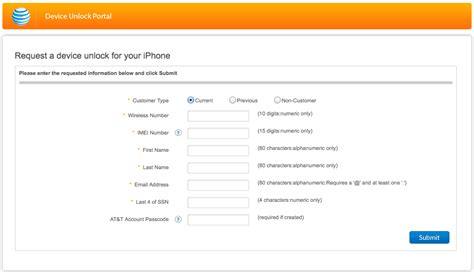 at t iphone unlock request unlock contract at t iphone using this form
