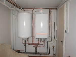 ensemble chaudi 232 re gaz 224 condensation avec ballon eau chaude sanitaire s 233 par 233 arnaune