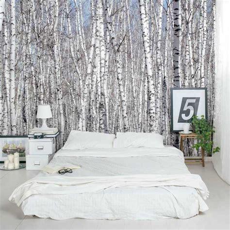 papier peint design chambre papier peint tendance 50 idées pour une maison moderne