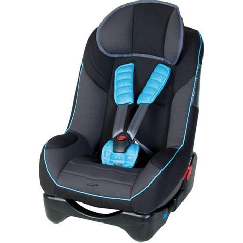 protege siege auto siège auto noir avec protège ceinture bleu harnais à