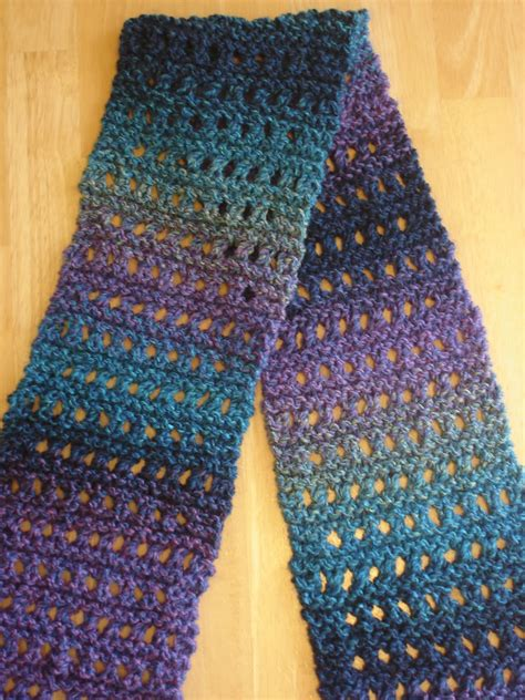 Easy Knit Scarves Free Patterns Erieairfair