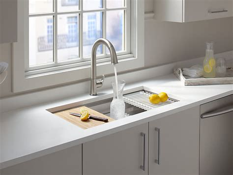 sterling kitchen accessories k 5540 prolific mount stainless steel sink with 2510