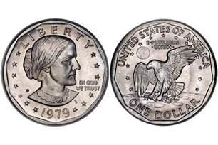Susan B. Anthony One Dollar Coin Value