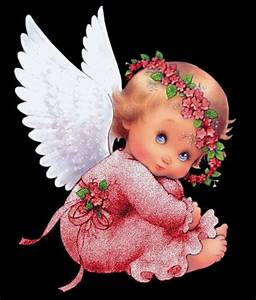 GLITTER BABY ANGEL ANIMATED GIF | ANIMATED GIFS | Pinterest