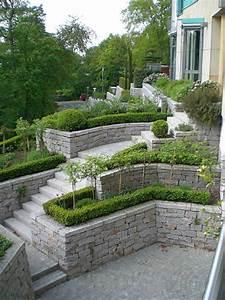 Gartengestaltung Pflegeleichte Gärten : gartengestaltung hanglage modern ihr traumgarten hensle metzger gmbh nowaday garden ~ Sanjose-hotels-ca.com Haus und Dekorationen