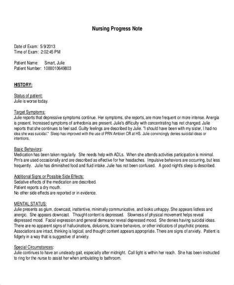 What Is The Clinical Resume For Progress Note by Nursing Note Template Bsn Clinical Nursing Care Plan Pdf Free Template Nursing Care Plan